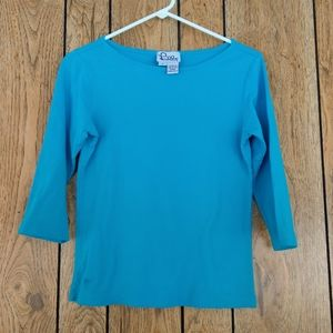 Lilly Pulitzer 3/4 Length Sleeve Shirt